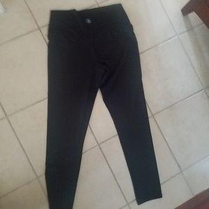 Black leggings champion size large